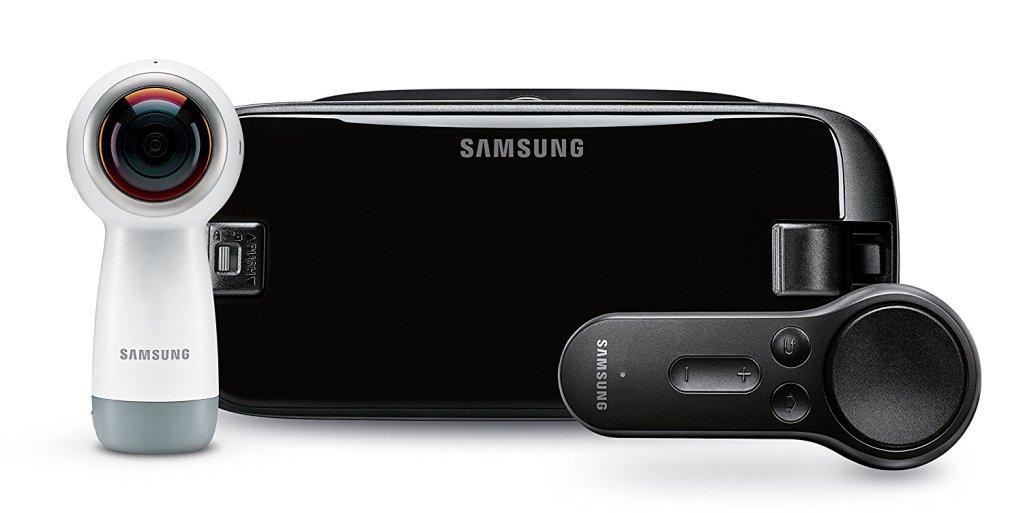 Superior Digital News - Samung Gear VR Headset, 360 Cam, and Remote Bundle