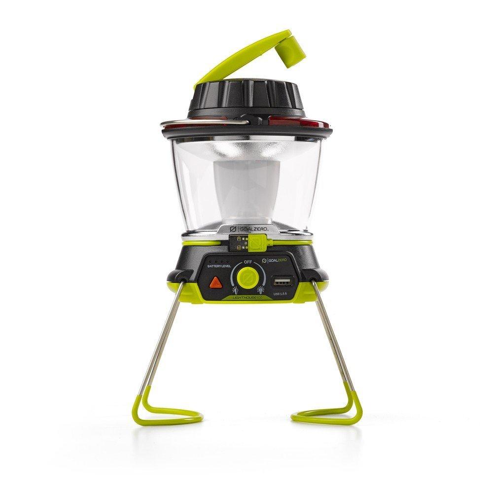 Superior Digital News - Goal Zero Lighthouse 400 Lantern - Emergency Light, Hand Crank, and Charger with Hazard Blinker