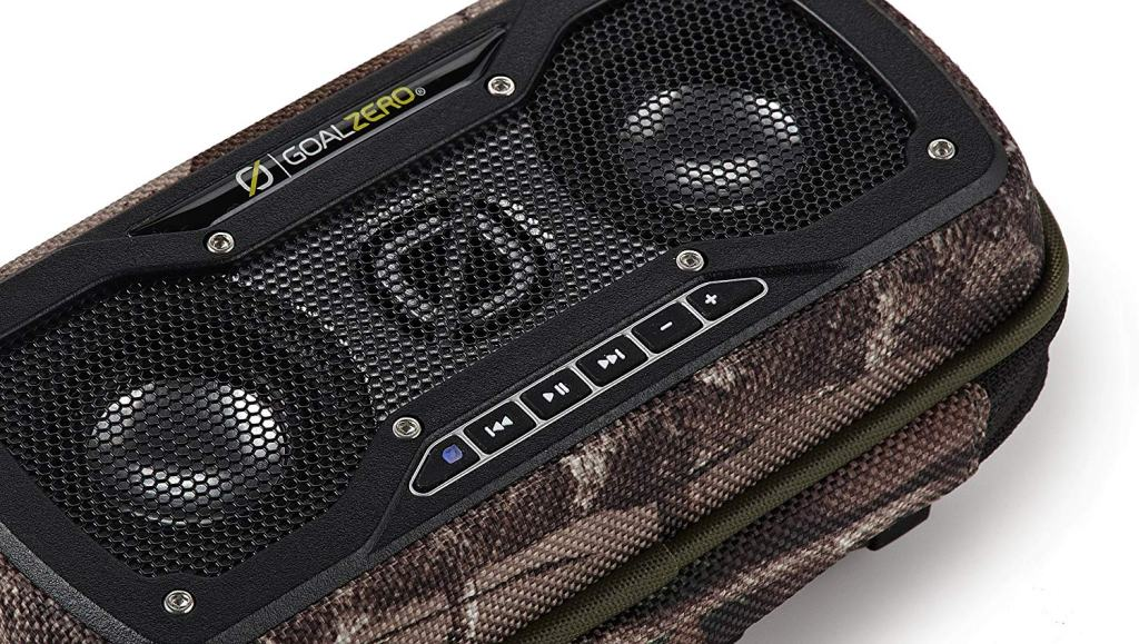 Superior Digital News - Goal Zero Rock Out 2 Outdoor Wired Portable Speakers - Music Control Buttons