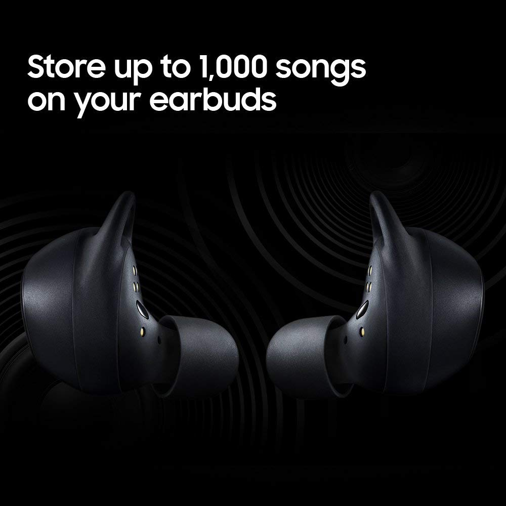 Superior Digital News - Samsung Gear IconX (2018 Version) True Wireless Earbuds - MP3 Storage - Fitness Tracking