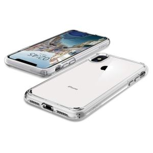 Cover Your New iPhone XS Without Covering It: Spigen Ultra Hyrid Case