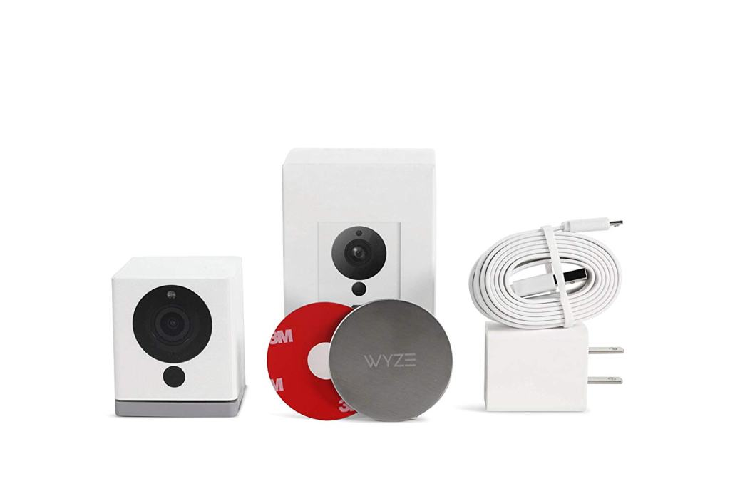 Superior Digital News - Wyze Cam 1080p HD Indoor Wireless Smart Home Camera with Night Vision, 2-Way Audio, Alexa Enabled - Wire & Mounting Kit