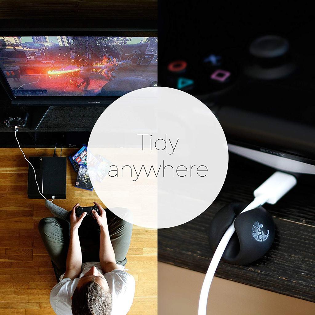 Superior Digital News - BlueKey Cable Clip Organizer - Gaming