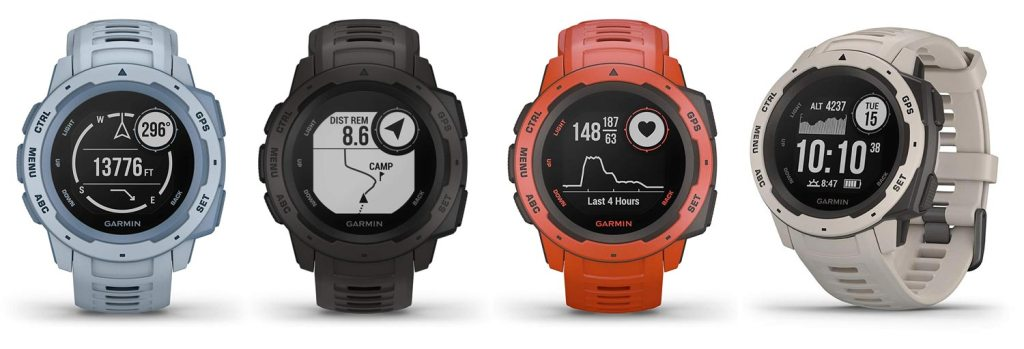 Garmin Instinct Outdoor GPS Watch - Premium Features