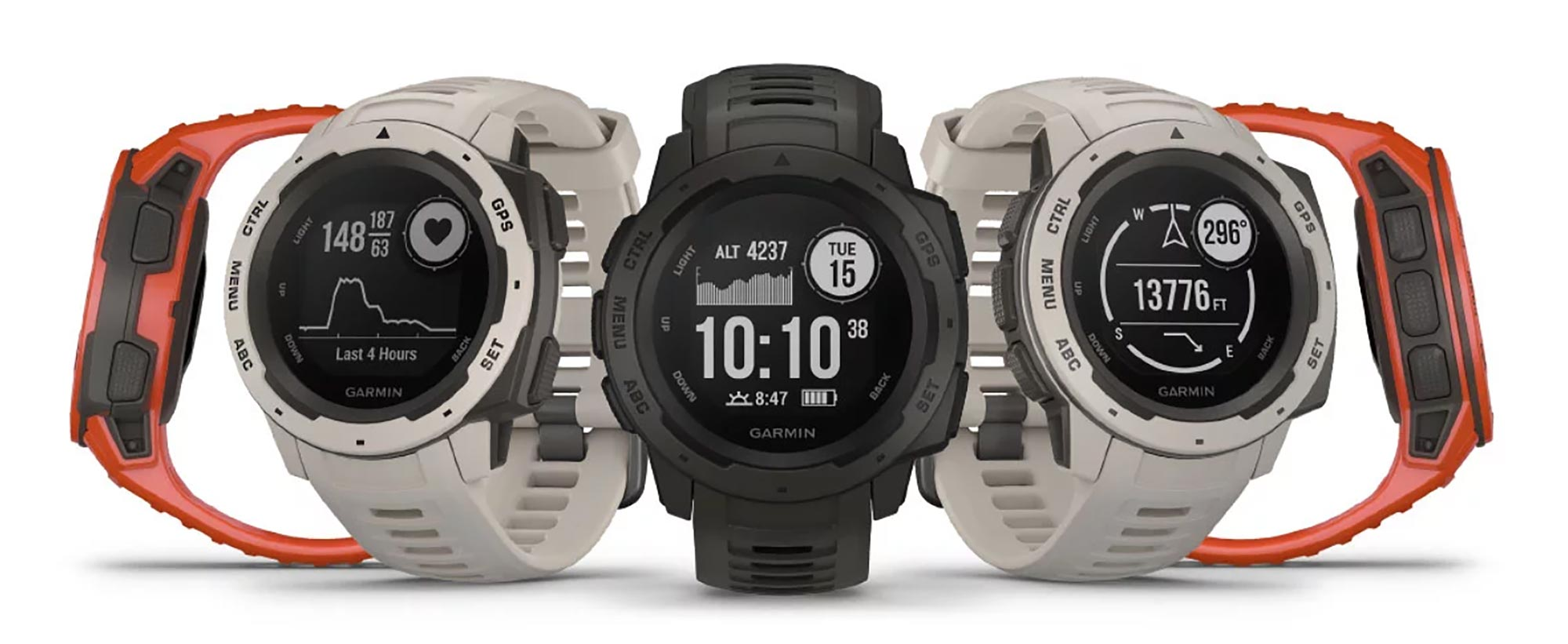#1 Outdoor GPS Watch – Garmin Instinct | $100 OFF!!!
