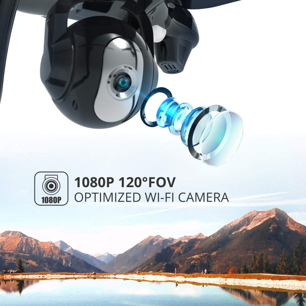 Holy Stone HS100 RC Drone - 1080p HD Camera