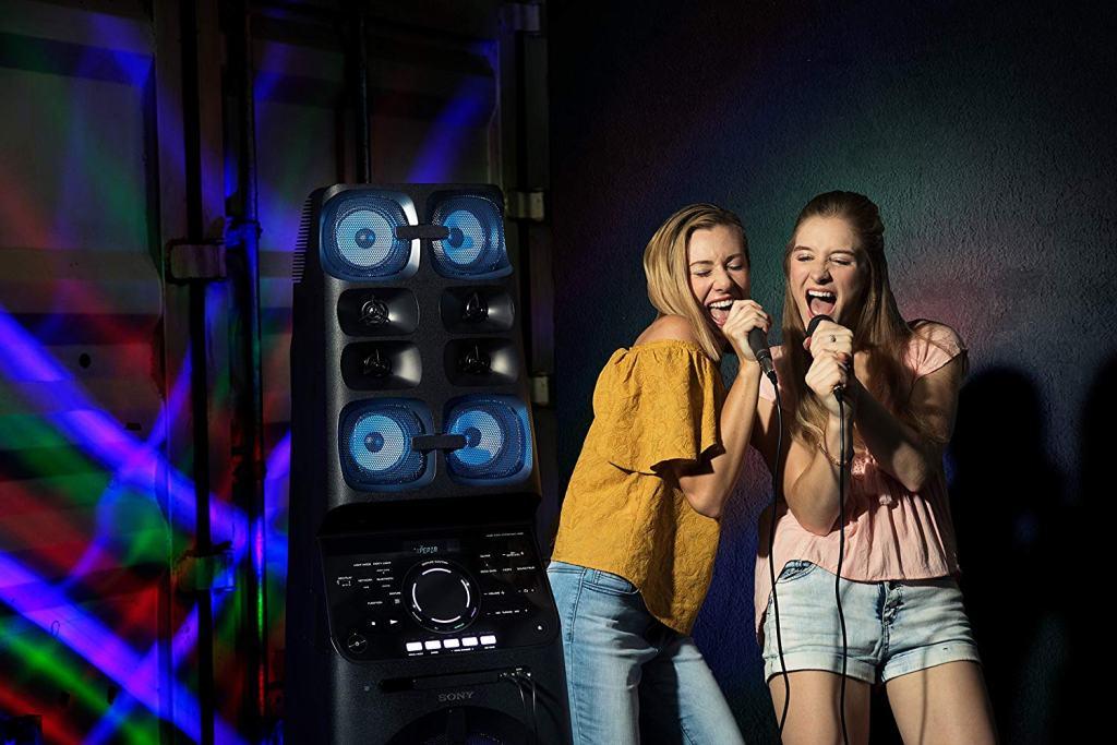 Sony MHC-V90W High Power Audio System with Karaoke
