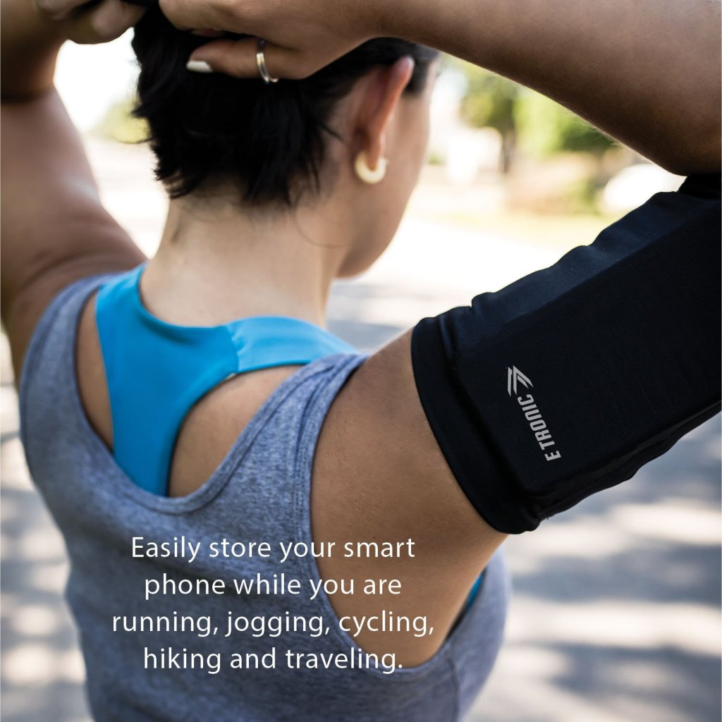 E Tronic Edge Running Armband Phone Holder