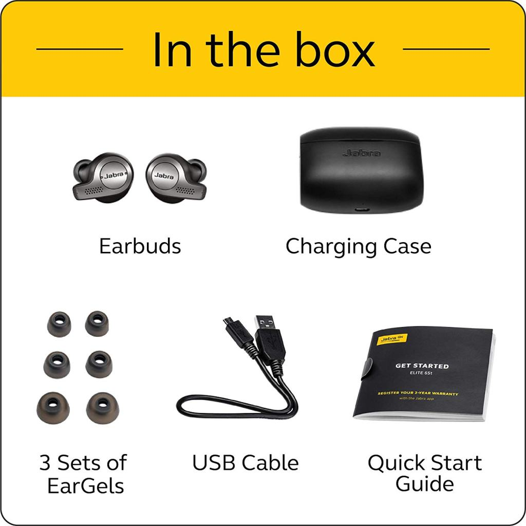 Jabra Elite 65t True Wireless Headphones Accessory Kit