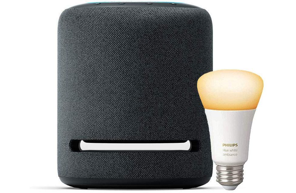 Echo Studio & Smart Hue Smart Light Bundle Deal