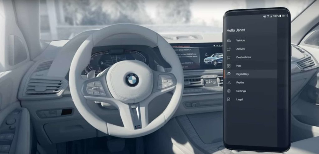 BMW Digital Key Feature
