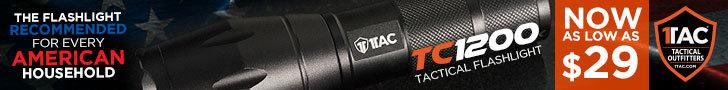 Tactical Flashlight - TC1200 Flashlight