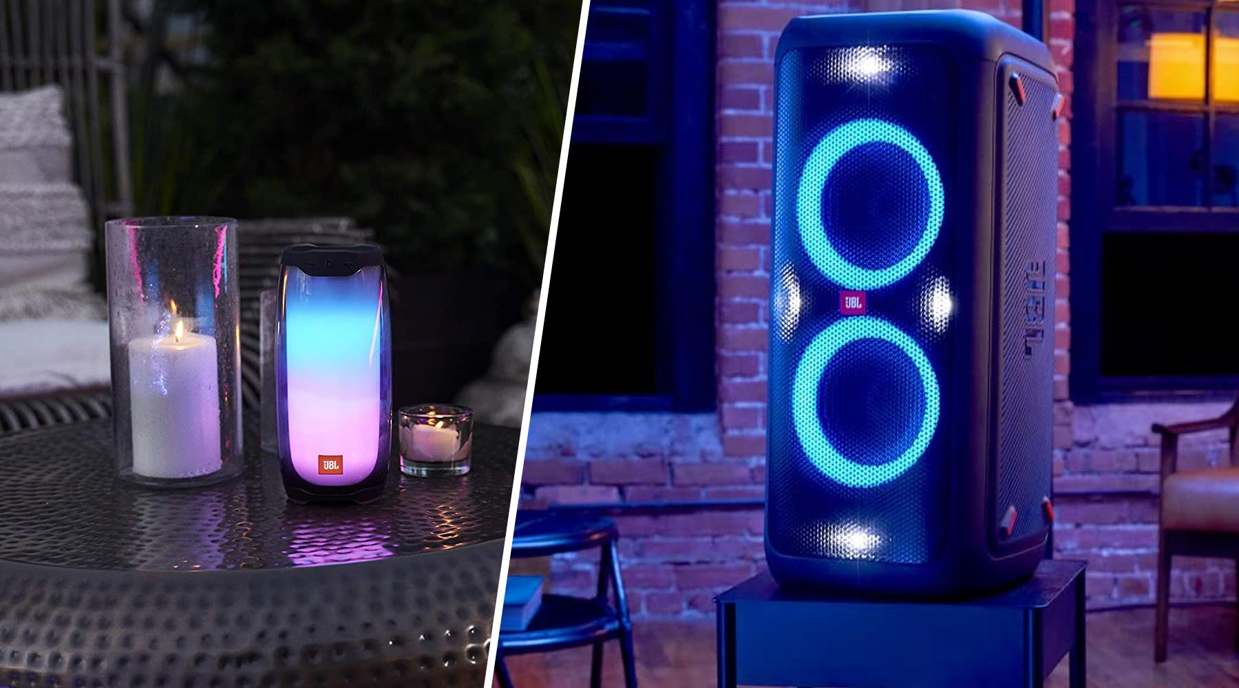 Best Portable Party Speakers | JBL Pulse 4 and PartyBox 300