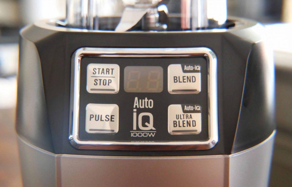 Nutri Ninja Auto iQ Personal Blender - Control Panel