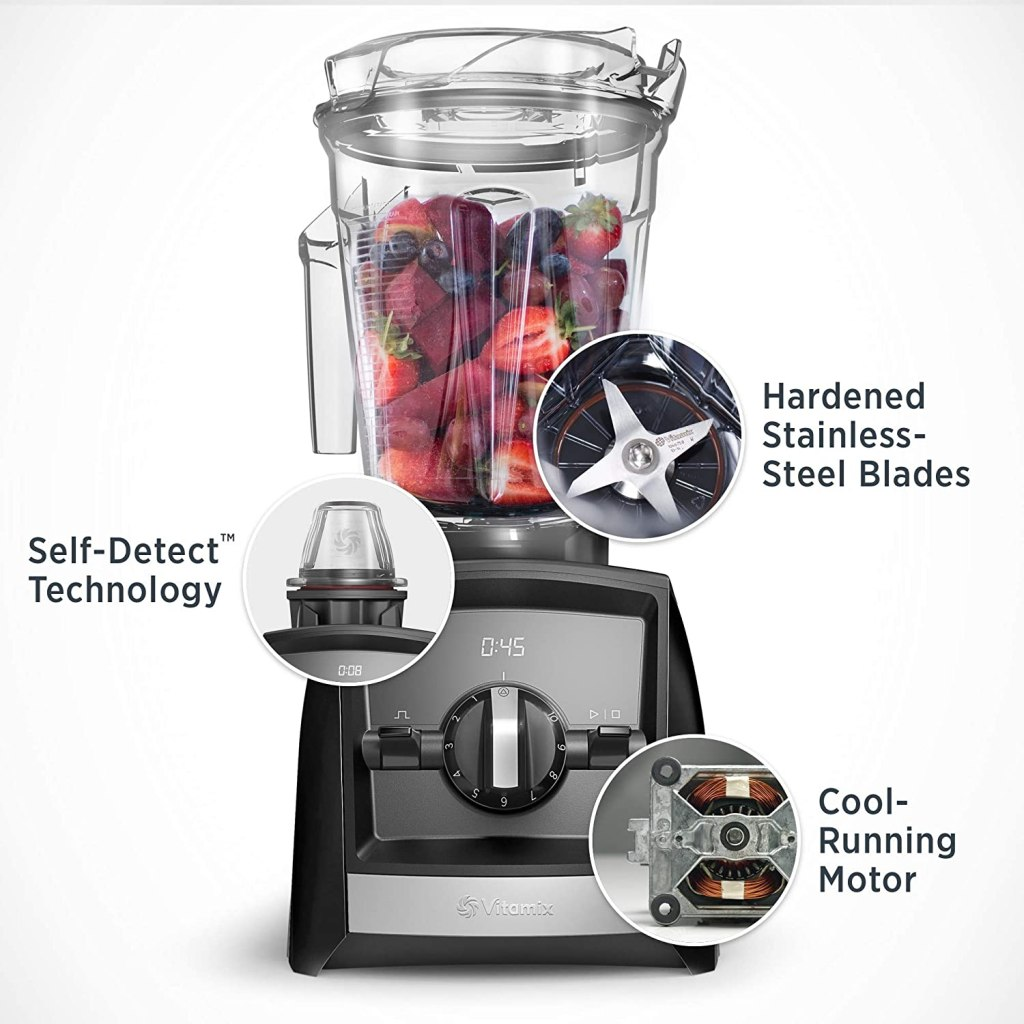 Vitamix A2300 Ascent Series Smart Hybrid Blender