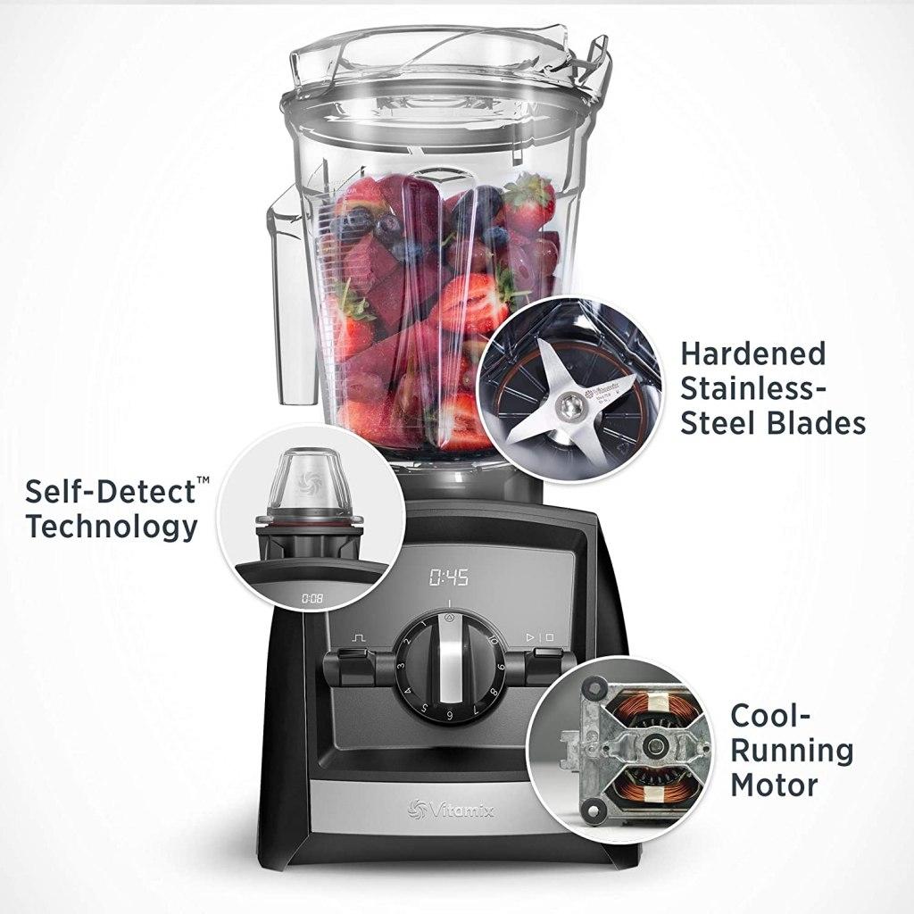 Vitamix A2300 Ascent Series Smart Hybrid Blender