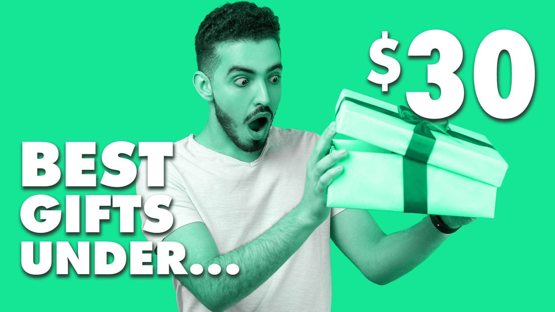 Best Gifts Under $30