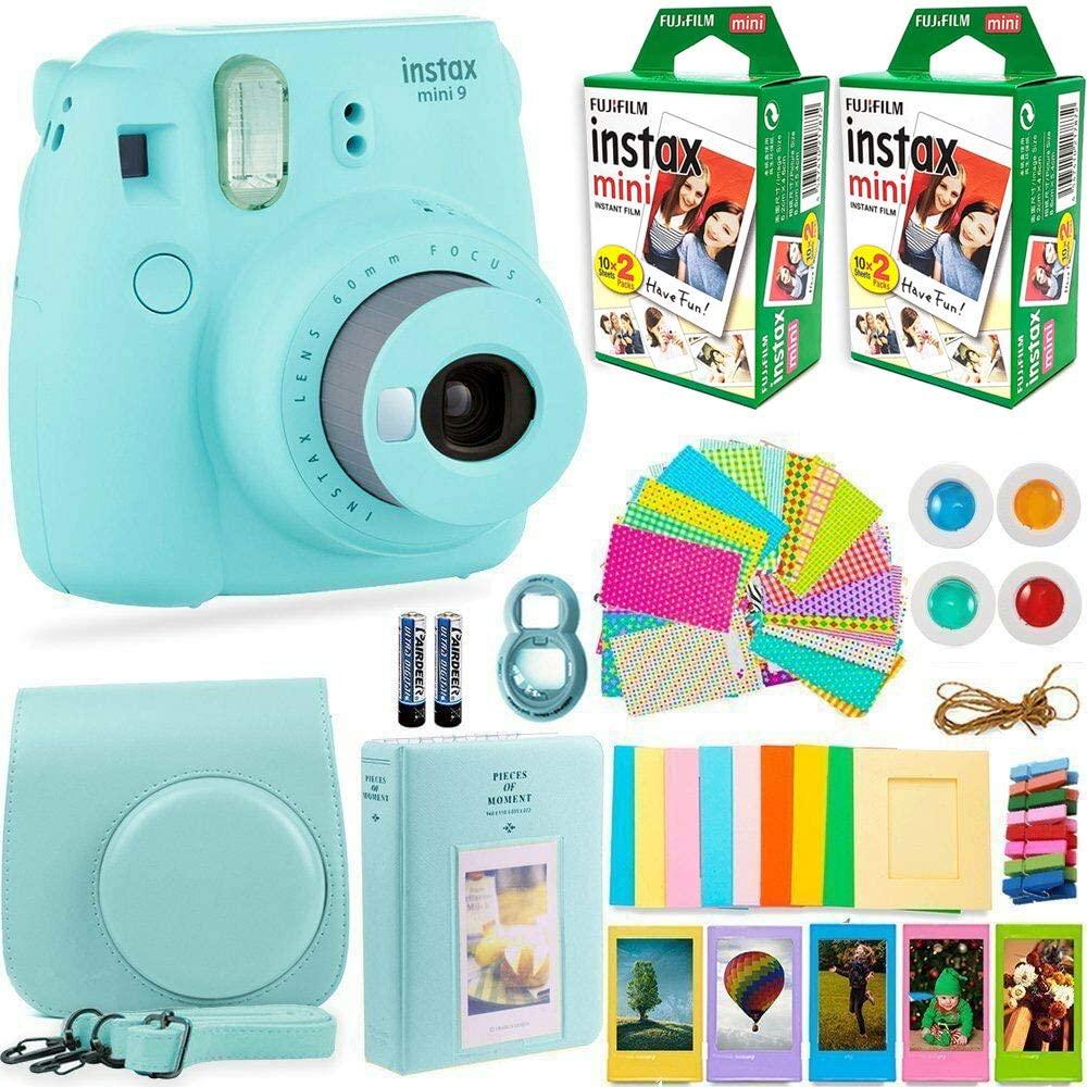 Fujifilm Instax Mini 9 Instant Camera Bundle | Best Gifts Under $100