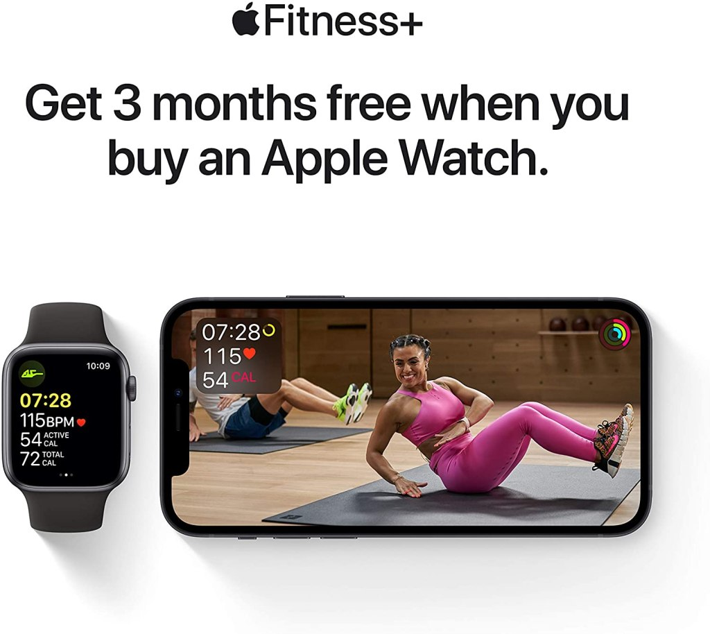 Apple Watch Series 6 - Apple Fitness+ 3 Free Months