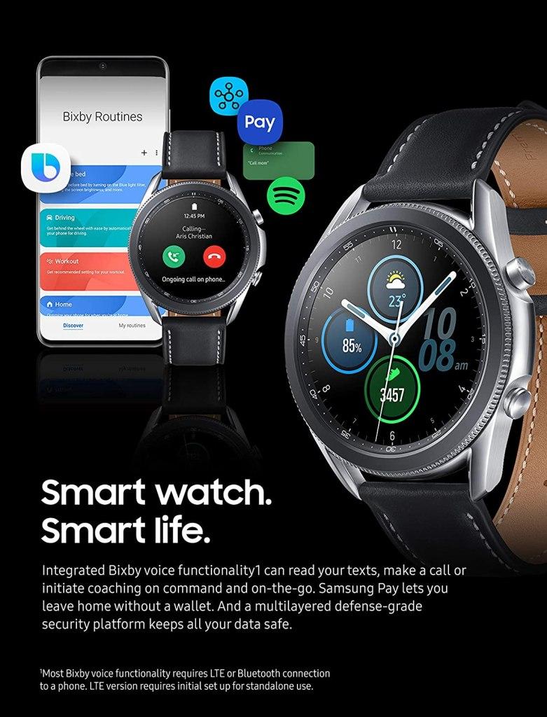 SAMSUNG Galaxy Watch 3 Health and Wellness 2