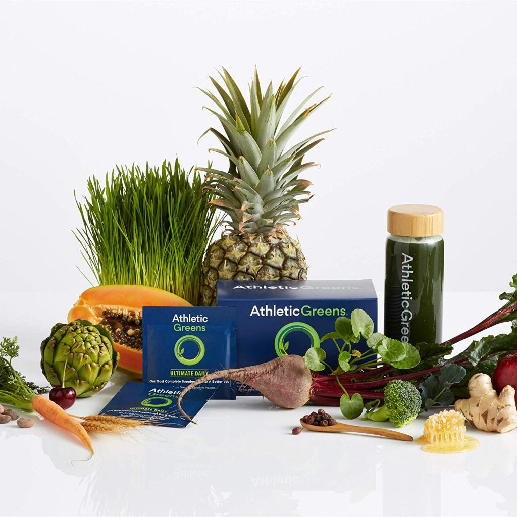 Athletic Greens Superfood Powder - Ultimate Daily Supplement Ingredients