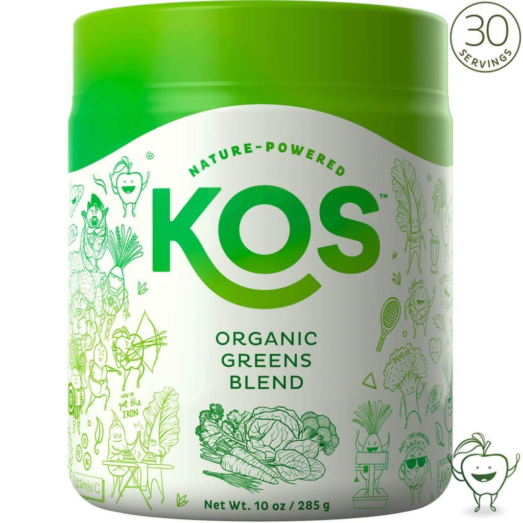KOS Superfood Powder - Organic Greens Blend