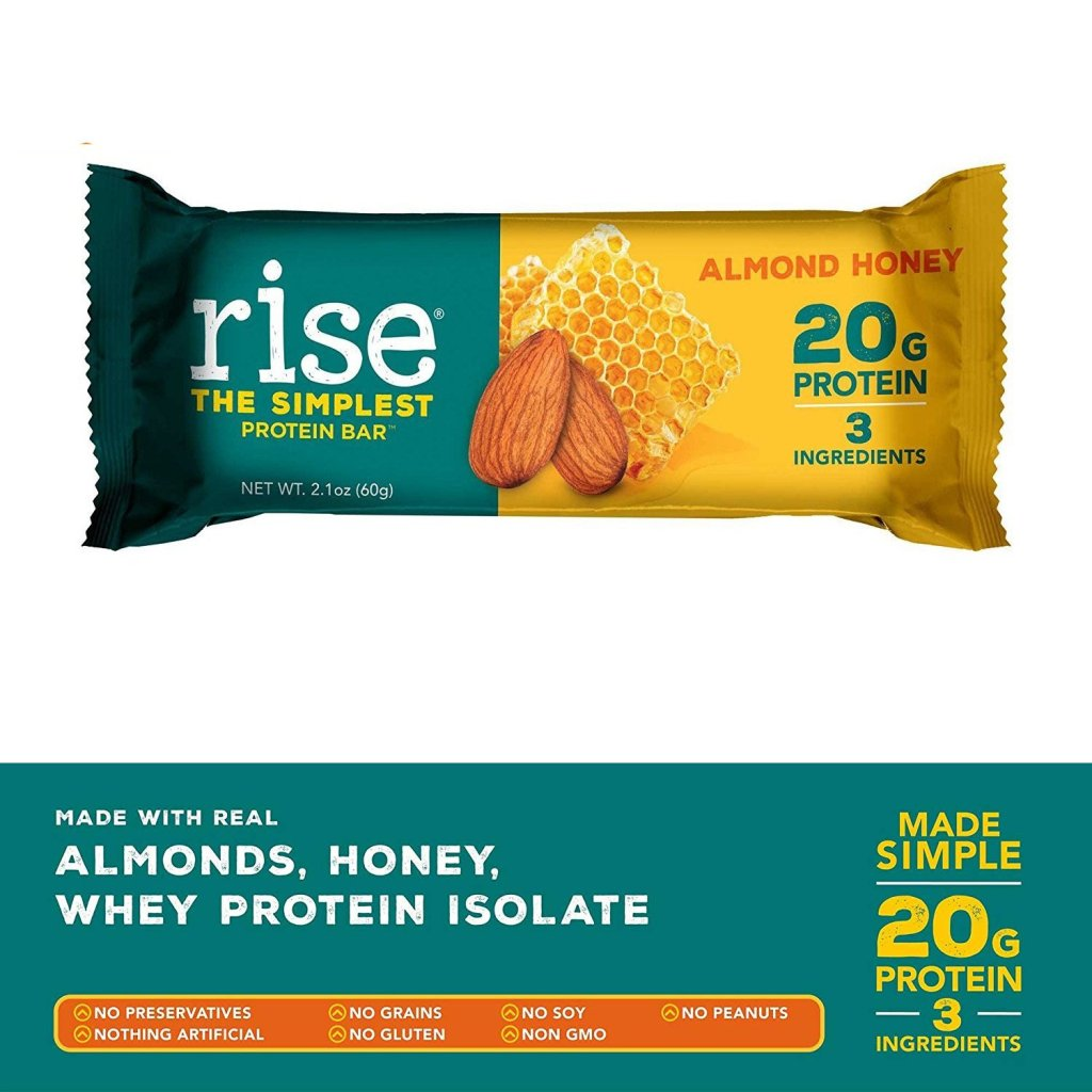 Rise Protein Bar - Almond and Honey