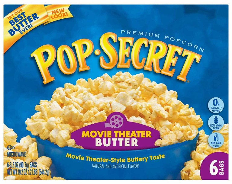 Pop Secret Movie Theater Butter Popcorn