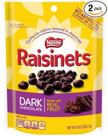 Raisinets Dark Chocolate Covered Raisins