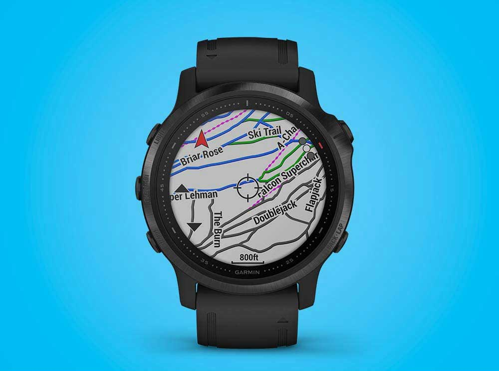 Garmin Fenix 6S Pro - Preloaded Maps