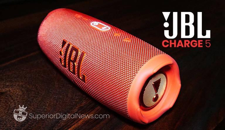 JBL Charge 5 Premium Portable Bluetooth Speaker