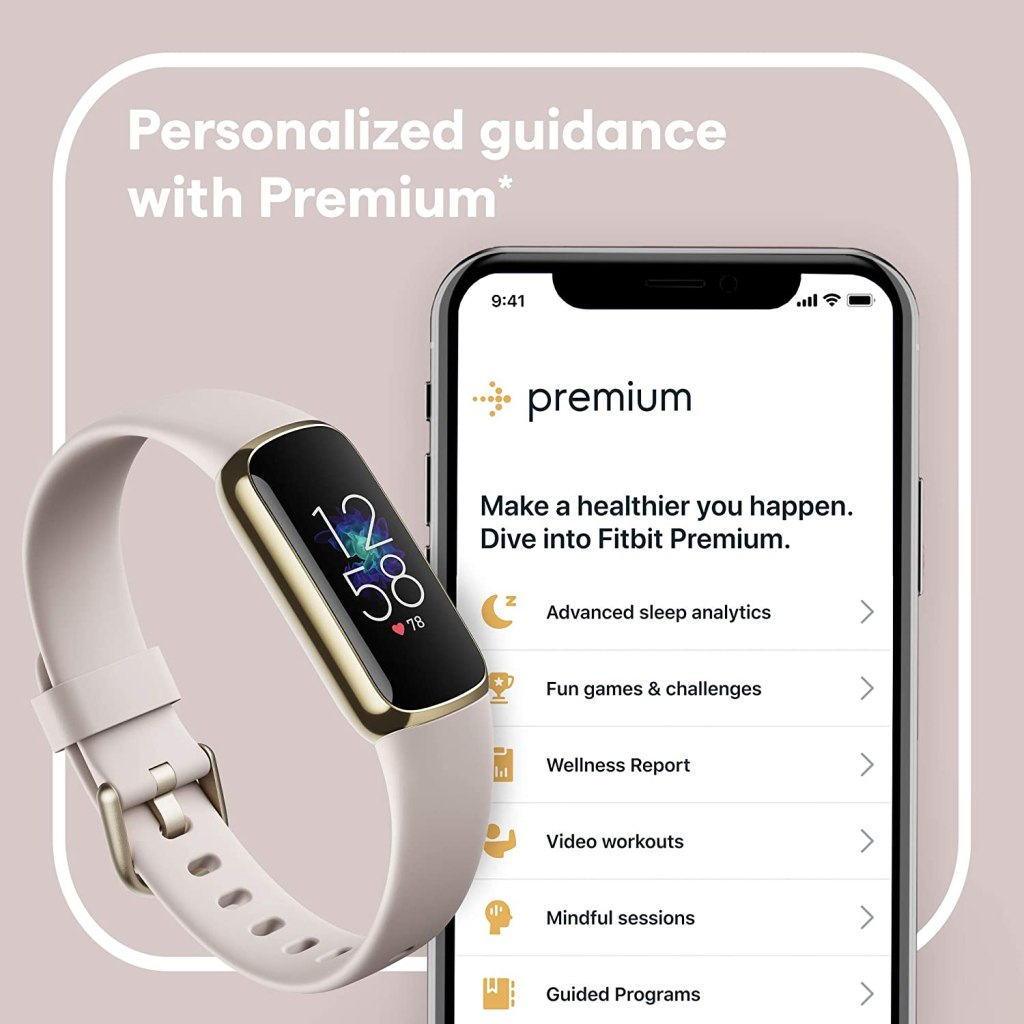 Fitbit Luxe Fitness and Health Tracking