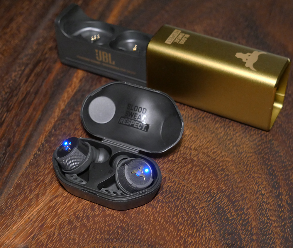 UA Project Rock Earbuds - Compact Case