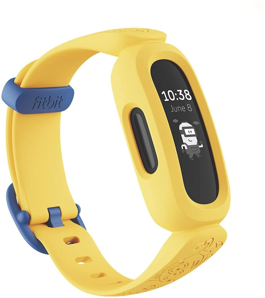 Fitbit Ace 3 Yellow Fitness Tracker For Kids