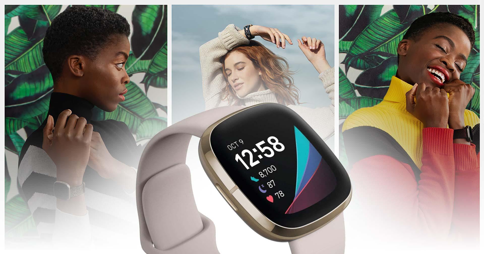 Best Fitness Smartwatch For Women 2021 | Fitbit Sense vs Versa 3