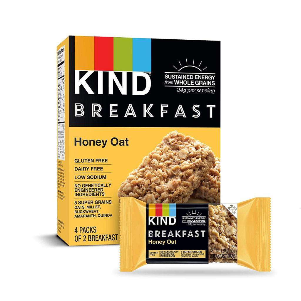 Kind Breakfast Bars - Honey Oat