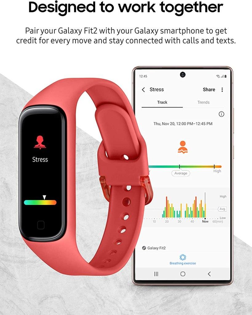 Samsung Galaxy Fit 2 - Advanced Stress and Sleep Tracking