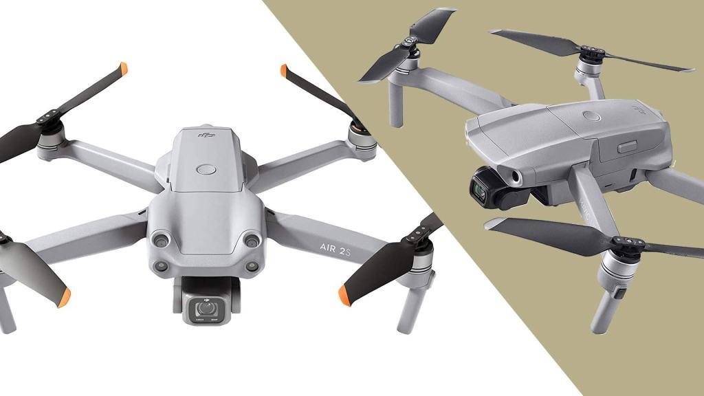 DJI Air 2S vs Mavic Air 2 Camera Drones