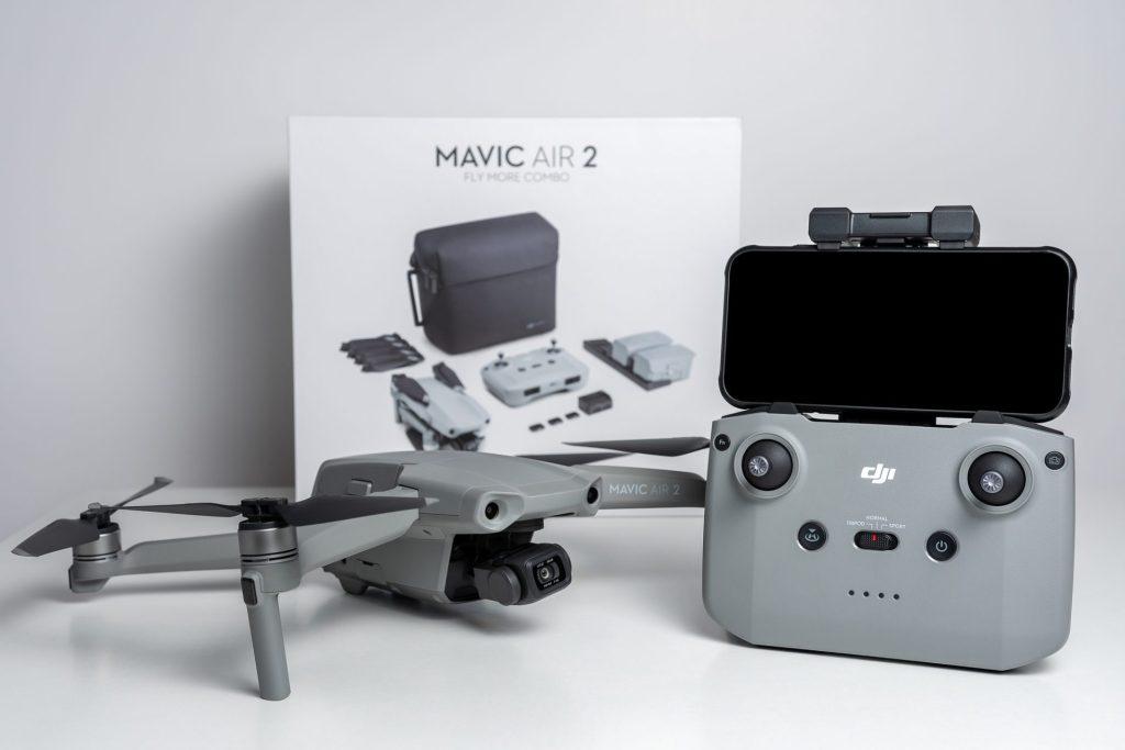 DJI Mavic Air vs Mavic Air 2 Fly More Combo