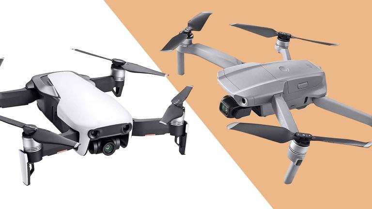 DJI Mavic Air vs Mavic Air 2 | Design Differences