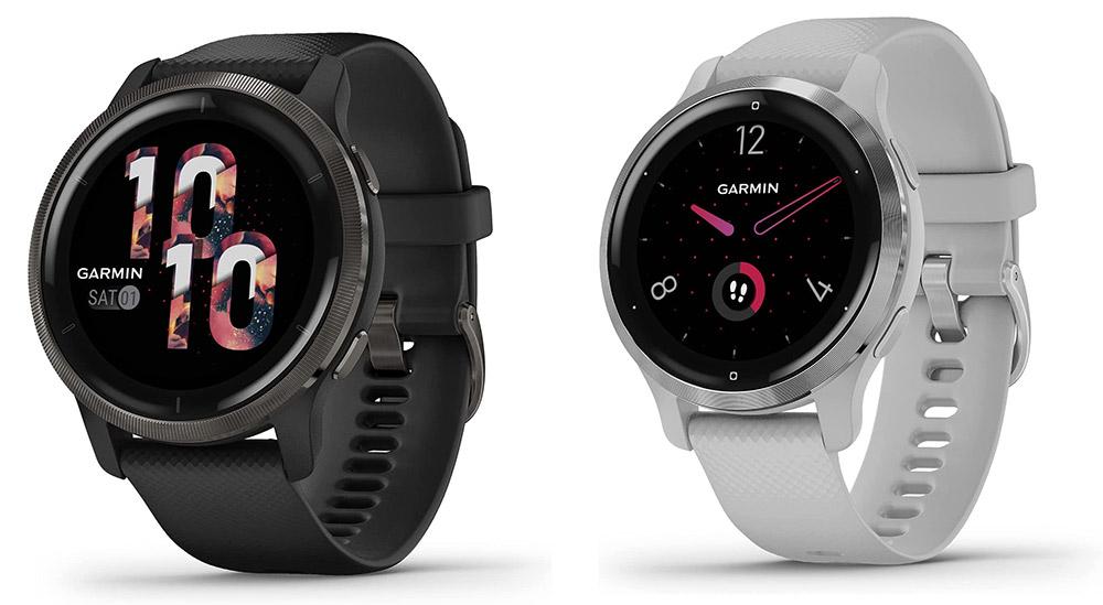 Garmin Venu 2 and Venu 2s Fitness Smartwatches