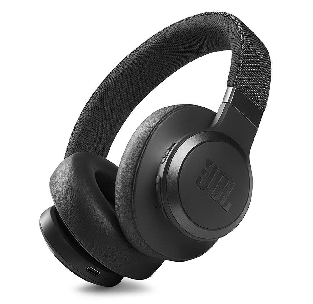 JBL Live 660NC Wireless Noise Cancelling Headphones Black