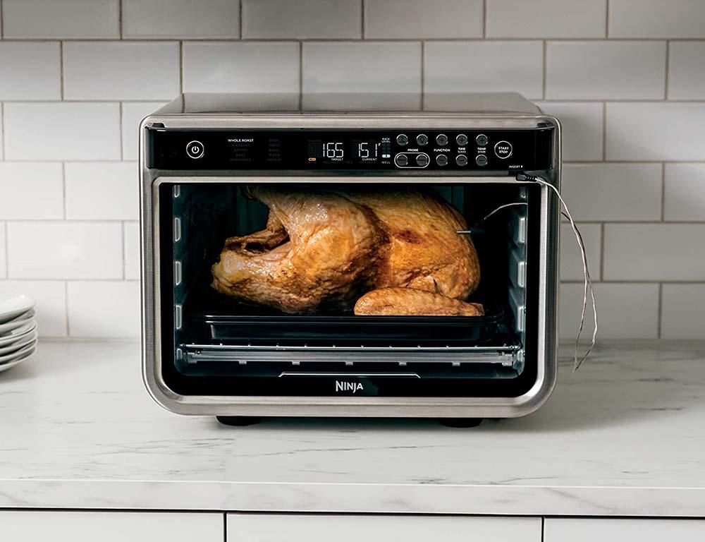 Ninja DT251 Foodi Smart XL Pro Toaster Oven - Cooks Up To A 12lb Turkey