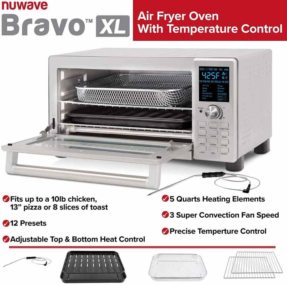 NuWave Bravo XL Smart Oven -Accessory Kit
