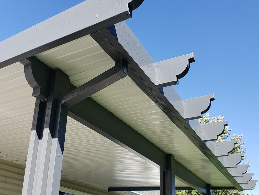 patio cover aluminum maintance free