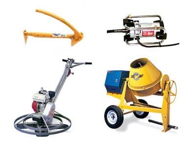 Concrete Tools Superior Rents Equipemnt Rental Tools