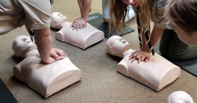 Scout Led First Aid and CPR Training