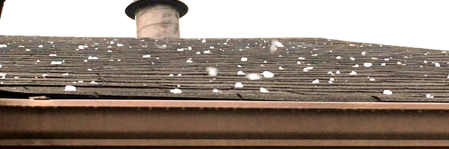 Roof Hail Damage from July 2019 Storm in Hanover PA: Roofing Contractor Advice for avoiding Storm-Chasers