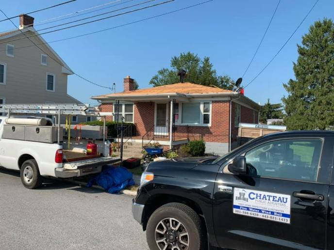 Roof Replacement in Hanover PA 17331 due to wind damage