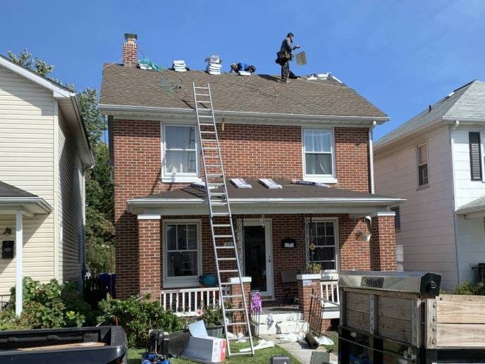 Roof repair, roof replacement and gutters in Hanover PA by Superior Services